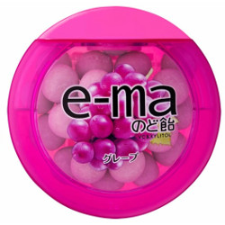 UHA E-ma Grape Flavor Throat D...