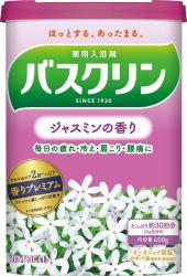 BATHCLIN Bath salt Jasmine fra...