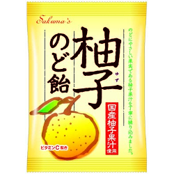 Sakuma Citron Throat Candy 75g