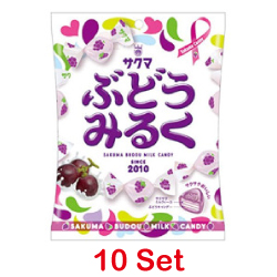 Sakuma Seika Grape Milk Candy ...