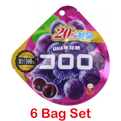 UHA Kororo Grape Gummy 48g [6 ...
